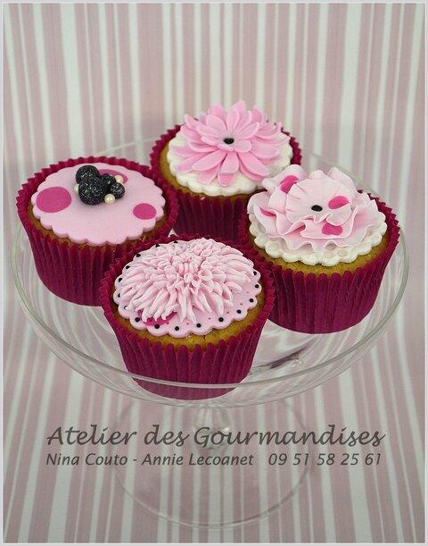 cupcakes d 233 coration en p 226 te 224 sucre atelier des gourmandises