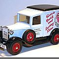 Ford Model A Cherry Blossom Boot Polish 1