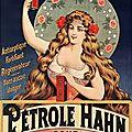 Réclame de 1899 : Le Pétrole Hahn
