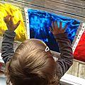 Patouille propre,couleurs ,traces,formes,lettres ,chiffres et empreintes.
