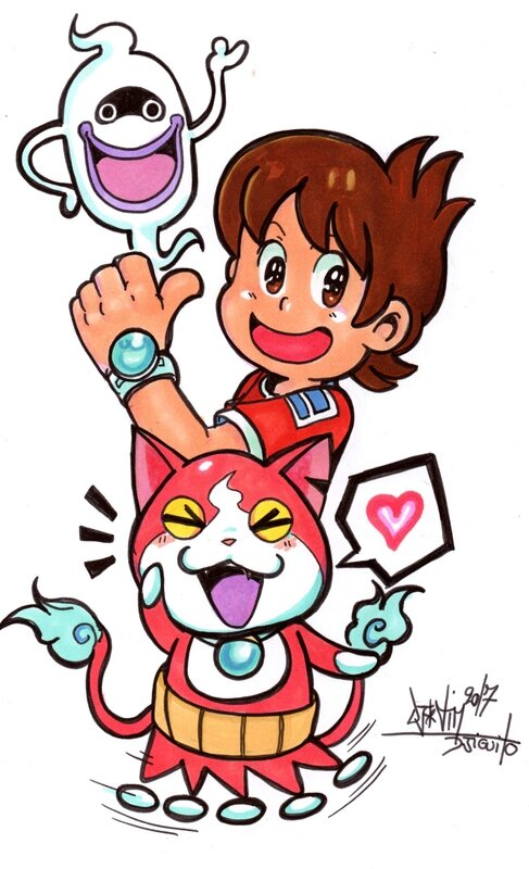 yokai watch 2 djiguito