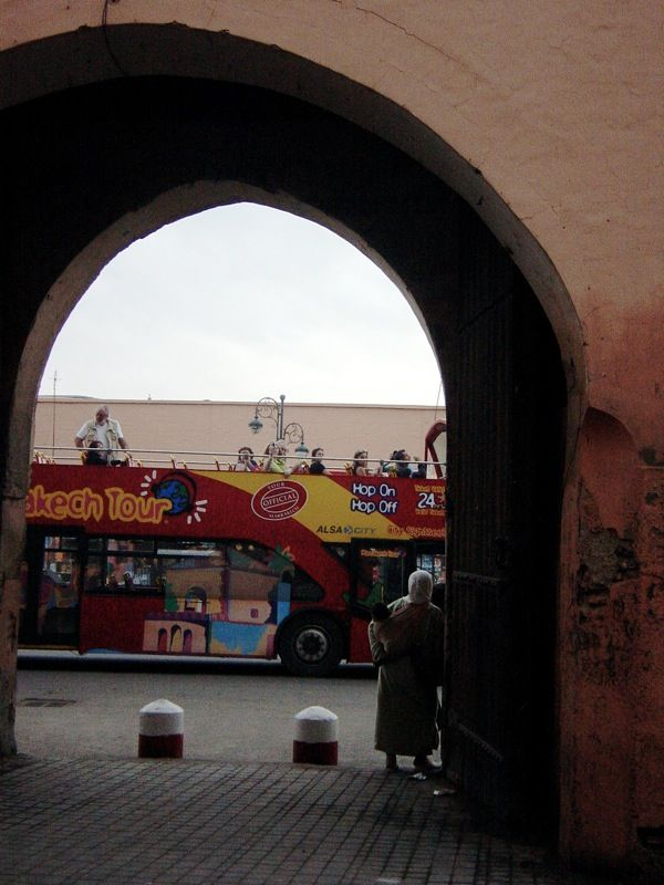 Marrakech Tour Bus