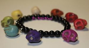 Bracelet multicolors cranéos5
