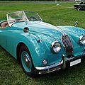 Jaguar xk 140 roadster 1954-1957