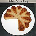 Gâteau invisible aux pommes et poires au i-cook'in {moule rosace}