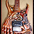 Handyman, guitare sculptée by hazoo!