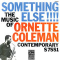 Ornette Coleman - 1958 - Something Else!!! (Contemporary)