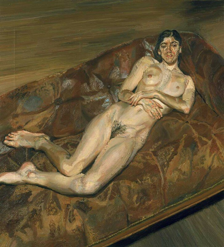 Lucian freud naked portrait the helpful