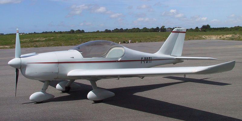 3 - la gaz'aile 1 à fuselage modifié