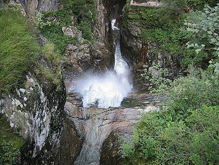 Vallée du lys cascade enfer