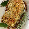 Filet mignon en croûte d'herbes