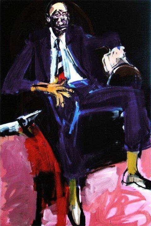 L'homme au fauteuil club