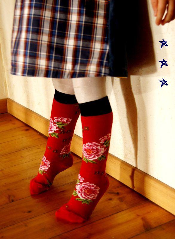 chaussettes bohèmes