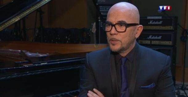 Pascal Obispo au JT de 13H de TF1 (Replay)