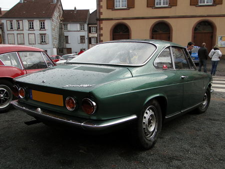SIMCA 1200 S Coupe 1967 a 1971 Critérium de la Vallée de la Bruche AMEDEE GORDINI 2011 2