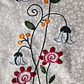 Bird and flower by birdie brown sans le bird