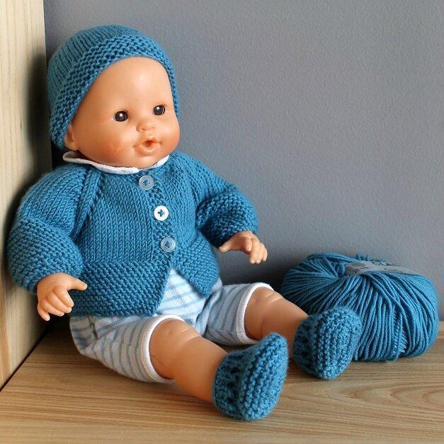 modele tricot poupon 42 cm
