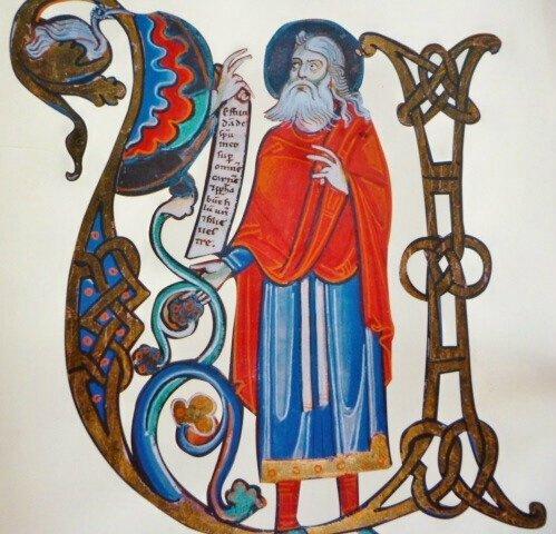 La bible de l'abbaye de Souvigny