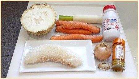 dos de cabillaud sur légumes fondants crémés1