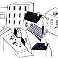 Recherches graphiques : balade sur les toits