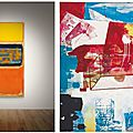 Two giants of post-war american painting will be featured in christie's sale