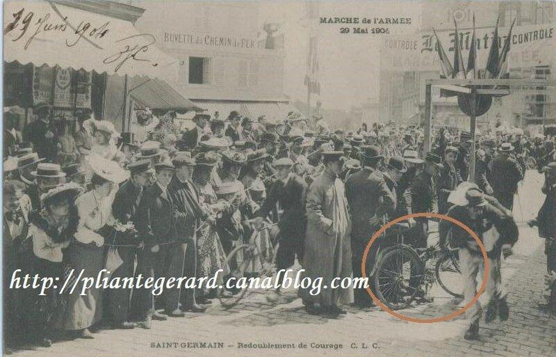 Des pliantes saint germain en laye la bicyclette pliante g rard - La poste st germain en laye ...