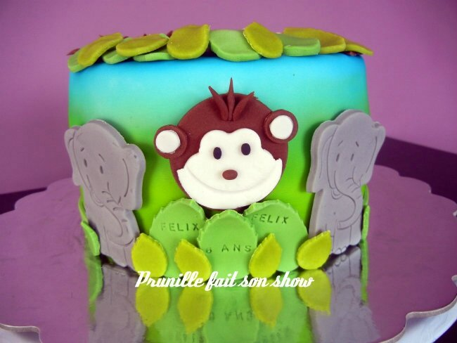gateau jungle 2 prunille fee