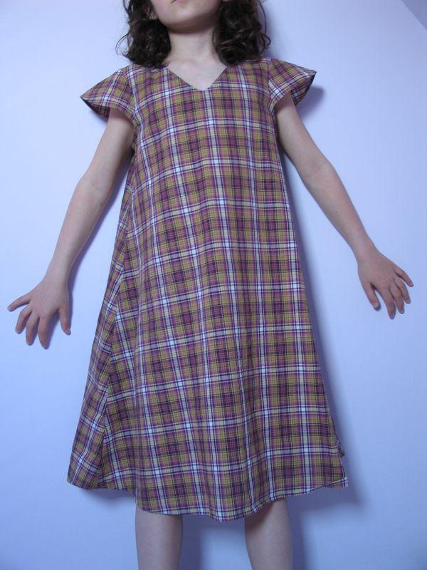 Robe girly style wardrobe H, tissu marie galante