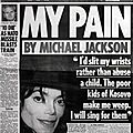 My pain, interview à piers morgan - daily mirror, 13 et 14 avril 1999