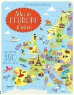 Atlas de l'Europe illustré couv