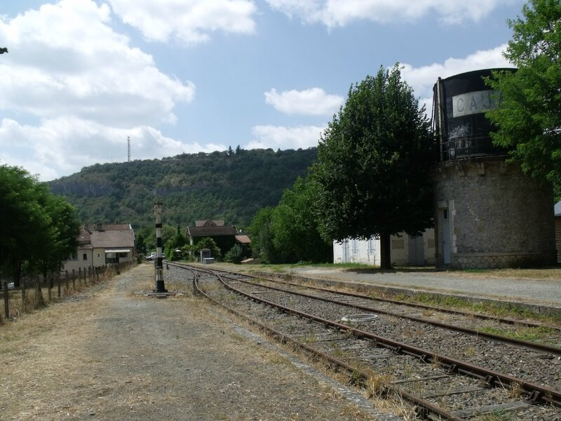 Vue direction Calvignac