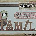 Petite carte cadeau vintage