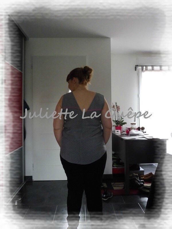 back is back gris à pois passepoils rose1