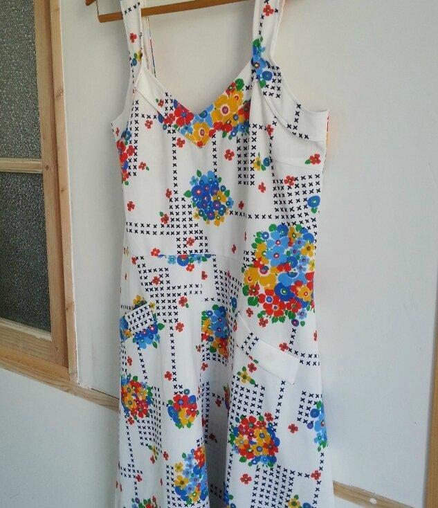 robe blanche fleurs (2)