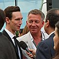 Monte Carlo 2016 - Cory Michael Smith & Sean Pertwee