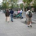 Des passants autour de nos mobs ! C'est sympa a voir !