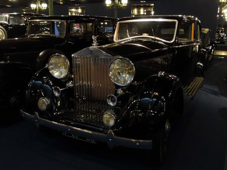 ROLLS ROYCE Berline Phantom III 1938 Musée National de l'Automobile de Mulhouse, collection Schlumpf
