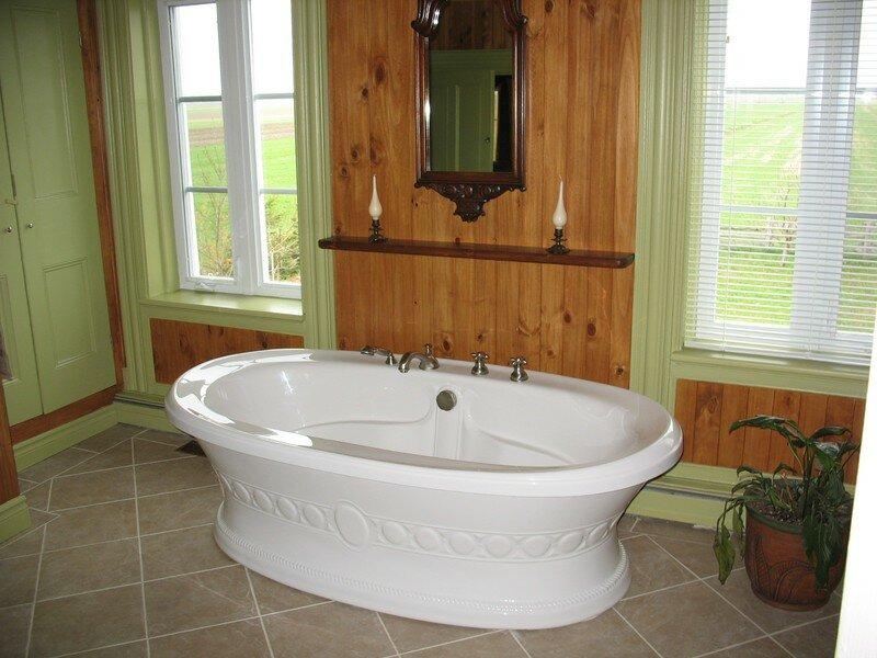 Salle de bain antique album photos r novation michel leclerc - Salle de bain style antique ...