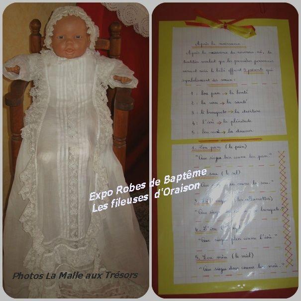 expo robe de Baptême 1