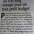 Paris- londres/amsterdam ou bruxelles à 5 euros!!