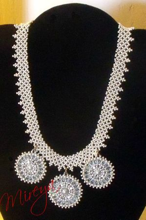 Collier Netting argent 2