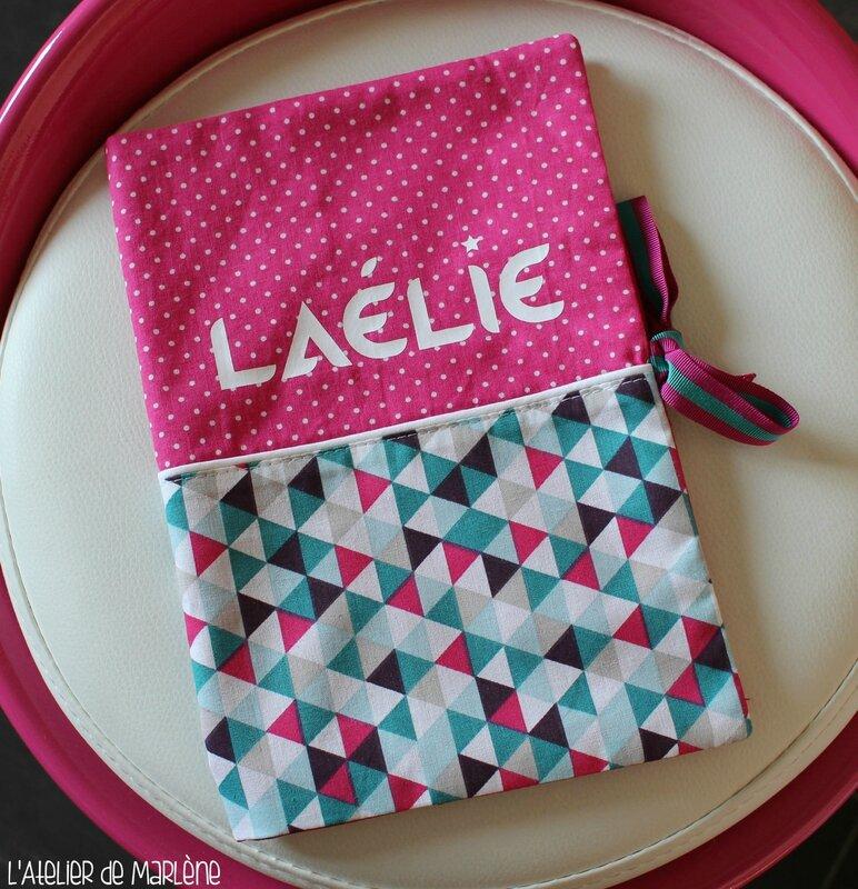 protège carnet de santé personnalisé Laélie