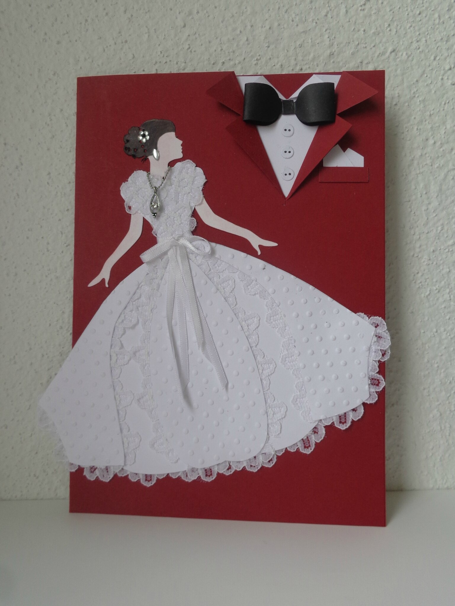 "Carte mariage ""chic"""