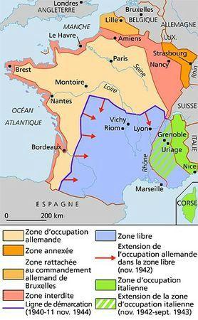 La France après l'armistice