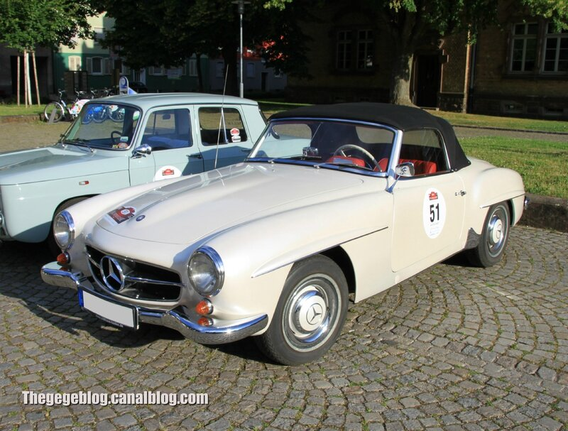 Mercedes 190 SL de 1961 (Paul Pietsch Classic 2014) 01