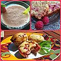 Spécial fruits rouges ( fraises/framboises)
