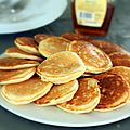 Pancakes au lait ribot (buttermilk pancakes), la recette qui va vous faire arrter la qute des 