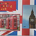 Page de garde album Londres 2008