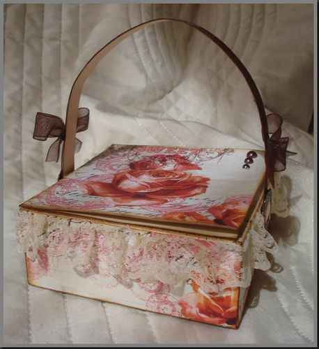 panier shabby selon tuto floliescrap photo de objets scrap cr as so 39. Black Bedroom Furniture Sets. Home Design Ideas
