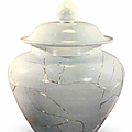 A white glaze jar excavated from the Xuande stratum